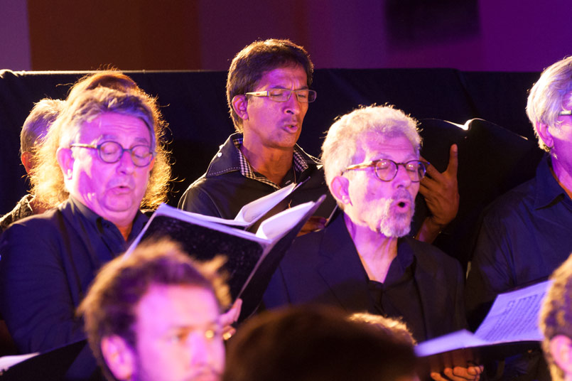 Choir of the academy and festival Monts en Musique